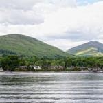 Luss, as seen from Loch Lomond