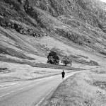 runner in glen coe
