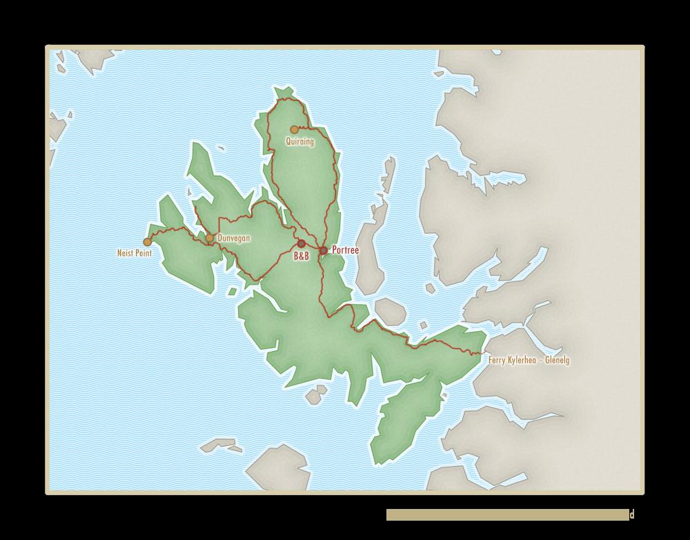 touring Skye