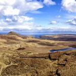 panoramic view of the Quiraing