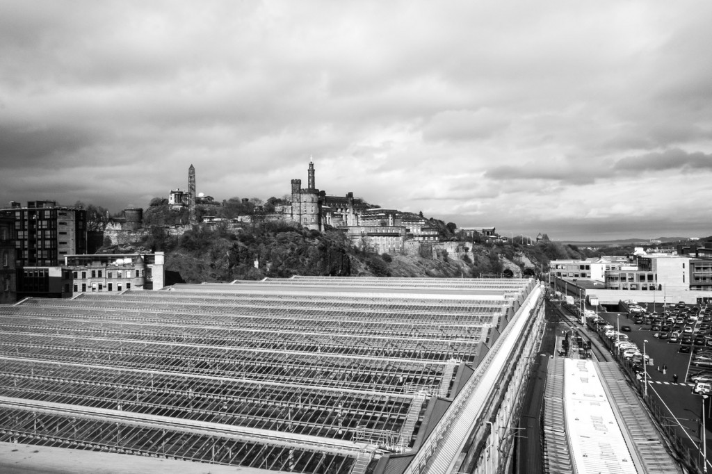 Waverley Station and Calton Hill