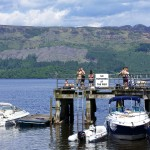 pier in Luss, Loch Lomond